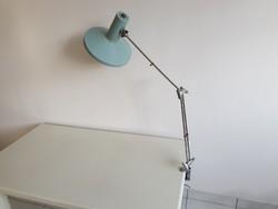 Régi retro nagy méretű Szarvasi állítható asztali lámpa 90 cm