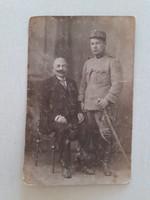 Régi fotó 1918 katona fénykép