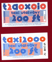 Taxi utalvány - 2 darab