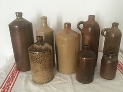 Kőedény palackok