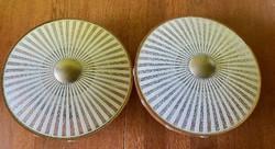 Retro mennyezet/plafon lámpa páros 1970-80'