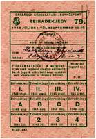 Zsíradékjegy 1948
