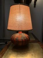 Retro kerámia asztali lámpa 1ft-ról