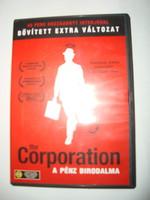 The Corporation - A pénz birodalma (The Corporation, 2003) DVD+könyv