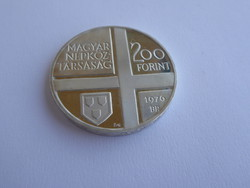 1976 Magyar Festők sor I. - Munkácsy Mihály 200 forint