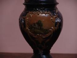 Antik najolika  petróleum lámpa
