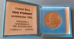 Czóbel Béla emlékérem, 1983