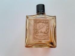Vintage címkés Molnár & Moser Budapest régi parfümös üveg