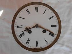 Francia belsőingás asztali/kandalló óra szerkezet