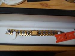 Luv & Kush exkluziv 18 karátos aranyóra, vízálló, dobozában