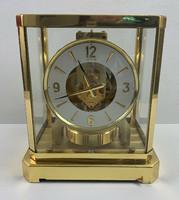 Jaeger-LeCoultre Atmos asztali óra - szervizelt, átnézett jó állapotban papiros garanciával
