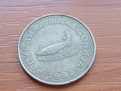 ÉSZAK-MACEDÓNIA (MACEDÓNIA) 2 DENARI 1993 OHRID PISZTRÁNG