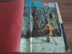 33 db Képes Újság, 1981-es kiadás, két kötetbe bekötve, egyben!!!