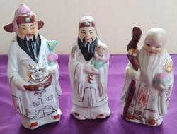 Régi kínai porcelán szobrocskák - 12 cm.