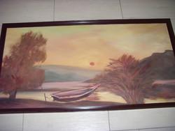 Monos József  1932-2013 olaj-vászon  festmény 11db Egyben