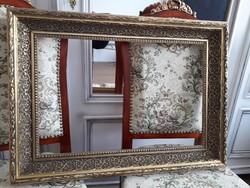 Csodálatos antik fakeret  73 cm X 53 cm