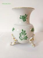Herendi Zöld Apponyi mintás váza