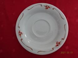 Alföldi porcelán, csipkebogyó mintás teáscsésze alátét.