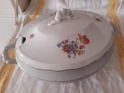 Zsolnay leveses tál - közel száz esztendős