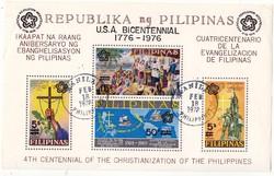 Fülöp-Szigetek légiposta bélyegek  1976