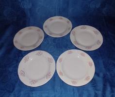 CROWN Regál porcelán lapostányér készlet 5 db  23,5 cm (2p)