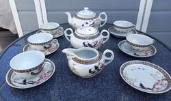 Kínai porcelán teás készlet-1950-Antik