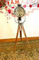 Felújított vintage / loft állólámpa