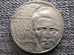 Lengyelország Marie Skłodowska-Curie 10 Zloty 1967 MW (id45165)