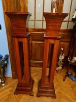 Pair of artdeco pedestals (artdeco posztamens)