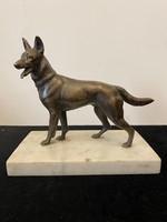 Amik bronz  kutya