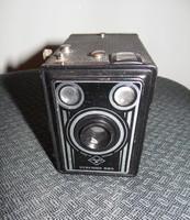 Box Camera Agfa Synchro Art Deco - 600 - Roll Film 6x9 - Germany fényképezőgép