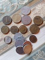Vegyes pénz érme