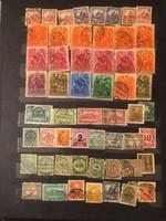 56 darab Magyar bélyeg .