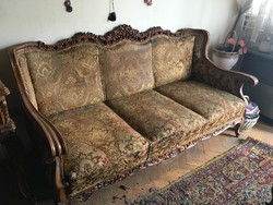 Neobarokk kanapé eladó