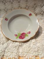 Régi Rózsás Zsolnay tányér