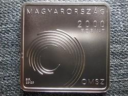 150 éves Országos Meteorológiai Szolgálat 2000 Forint 2020 BP BU (id44501)