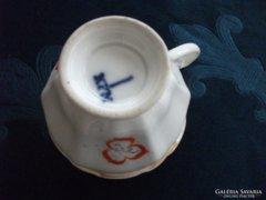 1840  KPM  gyöngyház mázas csésze