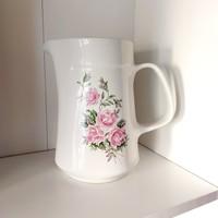 Alföldi virágmintás porcelán kancsó