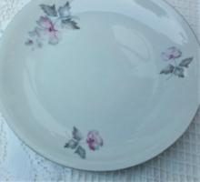 Retro alföldi porcelán süteményes tányér, pótlásra