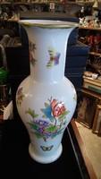 Herendi nagyméretű, hibátlan váza, tökéletes állapotban.41 cm-es