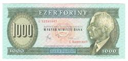 """1000 forint 1983 """"C"""" 1. UNC"""