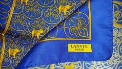 Lanvin Paris silk, selyem kendő