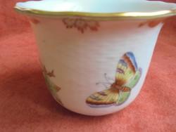 Herendi Viktória mintás porcelán kaspó