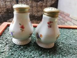 Régi bavaria porcelán só-bors szóró