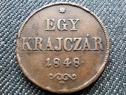 Szabadságharc 1 Krajcár 1848 (id29733)