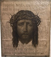 Franz Ittenbach festőművész – Ecce Homo című festményének olajnyomata – 84.