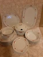 Csipkebogyó mintás Alföldi porcelán étkészlet