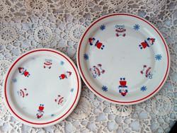 Zsolnay mese mintás tányérok