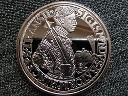 Magyar tallérok utánveretben Báthory Zsigmond tallérja 1589 .999 ezüst PP (id41578)