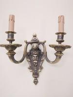 Bronz falikar, nagyméretű szép öntés